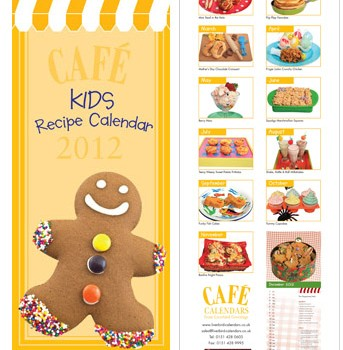 Cafe Kids Recipe Calendar 2012