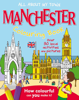 Manchester Colouring Book