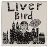 Moorland Liverbird Coaster