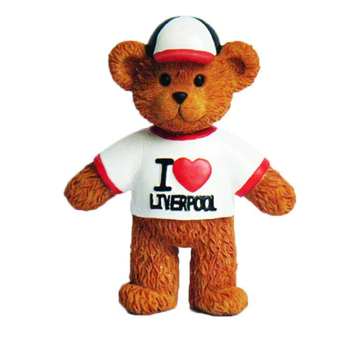 Lyver Design BEAR FM I LOVE LIVERPOOL
