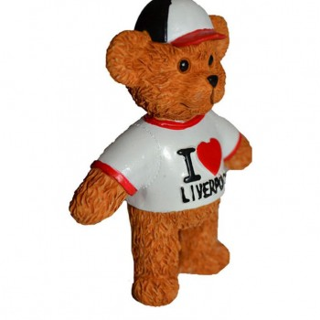 Lyver Design BEAR MODEL I LOVE LIVERPOOL