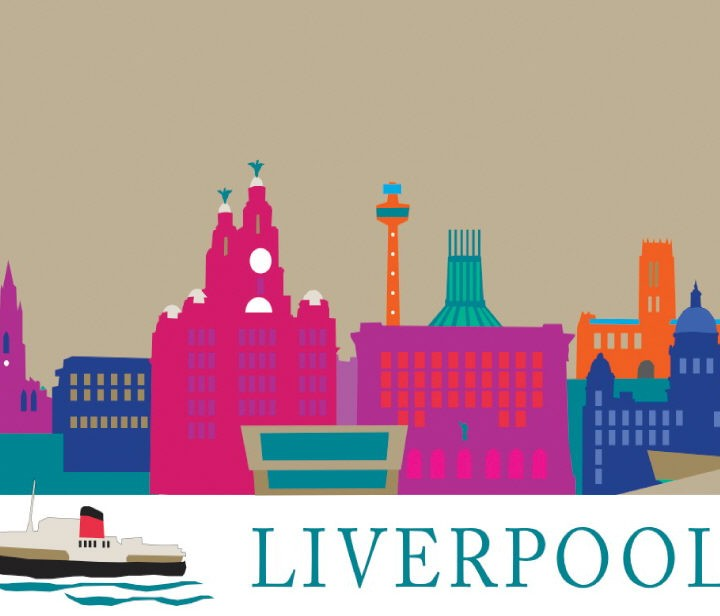 LIVERPOOL MAGNET ARTWORK