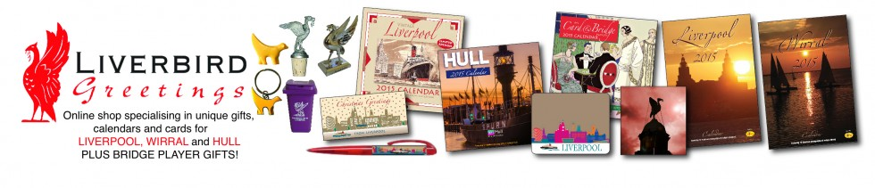 Liverpool gifts, 2015 calendars and cards, Liverpool, Wirral, Hull and Bridge Players