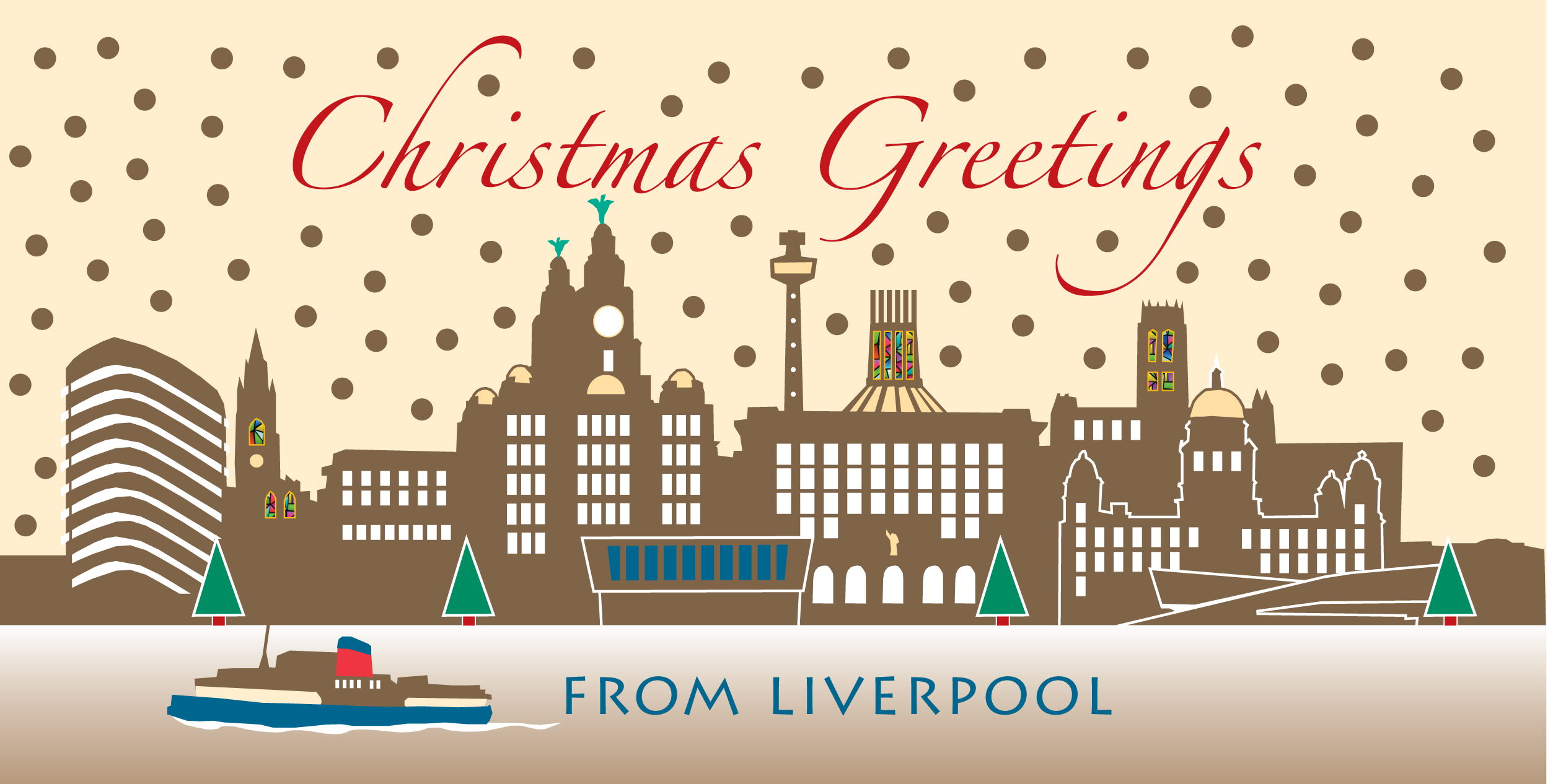 Liverpool 2014 Christmas Cards Liverpool Gifts 2018 Calendars And