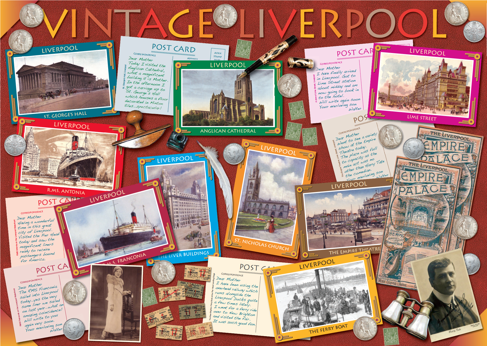 Vintage Liverpool Jigsaw