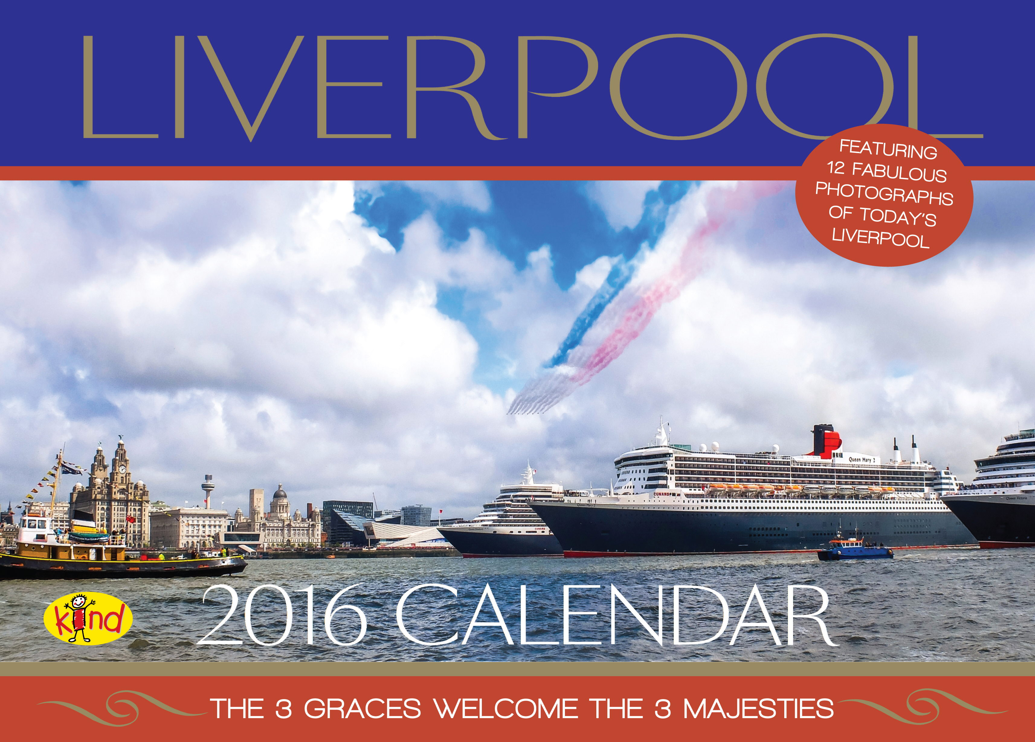 Liverpool Photo 2016 Calendar Front