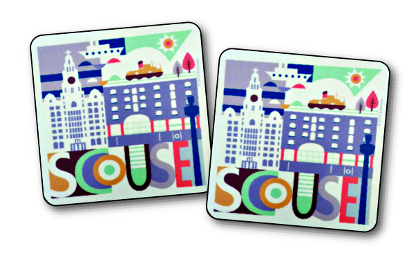 SCOUSE COASTERS