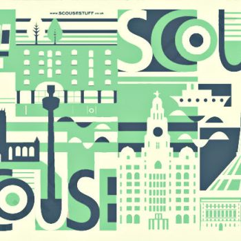 SCOUSE TEA TOWEL