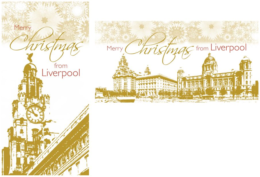 Liverpool 2017 Xmas Cards