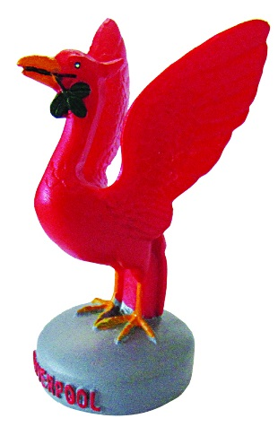 Mini Red Liverbird 2