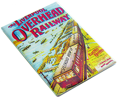 Overhead Railway Fridge Magnet