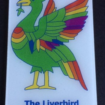 Liverbird Fridge Magnet