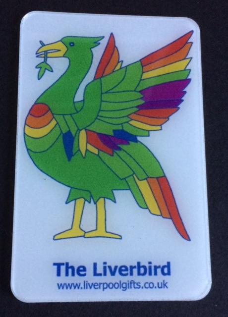 Liverbird Fridge Magnet