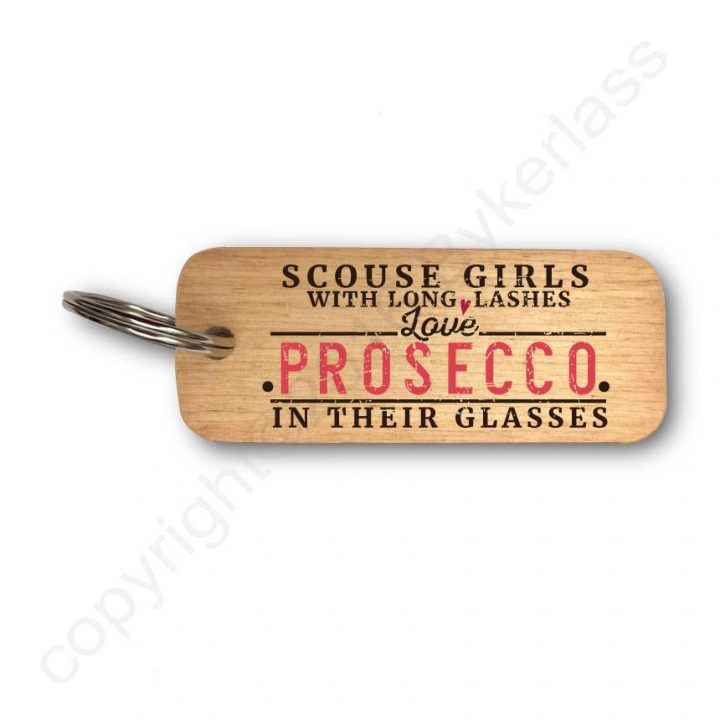 Prosecco Keyring