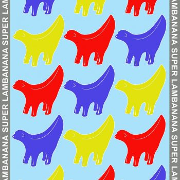 Superlambanana Tea Towel 2