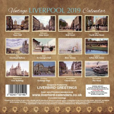 Vintage Liverpool 2019 Back Cover