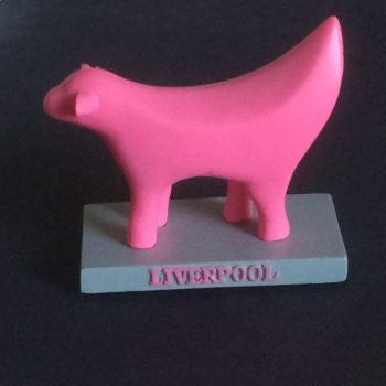 Pink Superlambanana Mini Statue