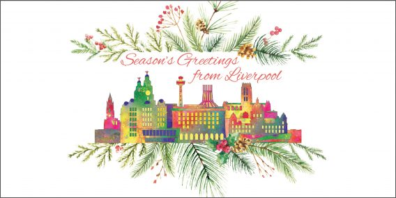 Liverpool and Wirral Christmas Cards | Liverpool gifts, 2018 ...