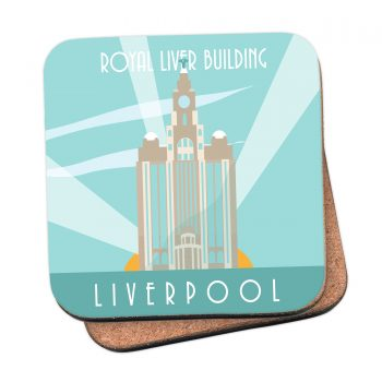 Liver Buildings Coasters