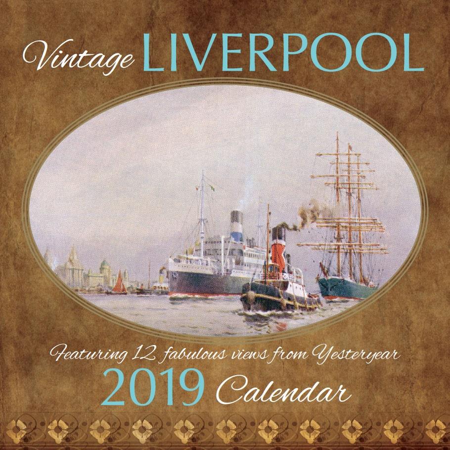 Vintage Liverpool 2019 Calendar | Liverpool gifts, 2020 ...